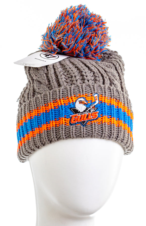 47 BRAND San Diego Gulls Cable Knit Logo Hat