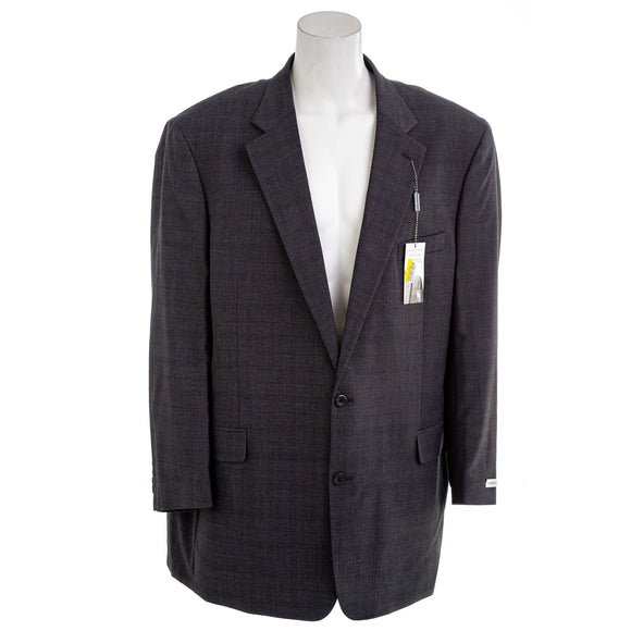 Geoffrey Beene Men's Windowpane Plaid Suit Jacket