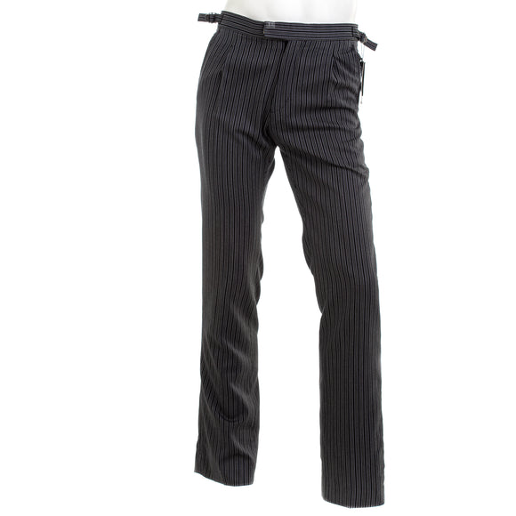 DOBELL Men's Striped Morning Suit Trousers