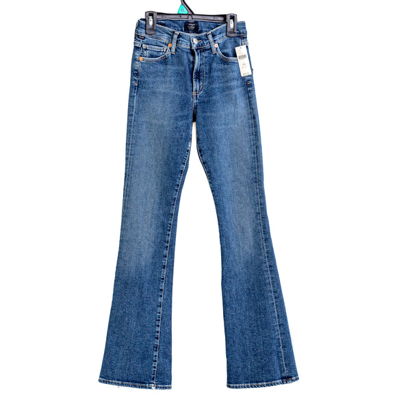 CITIZENS OF HUMANITY X ANTHROPOLOGIE Women's Emannuelle Slim Boot Cut Jeans