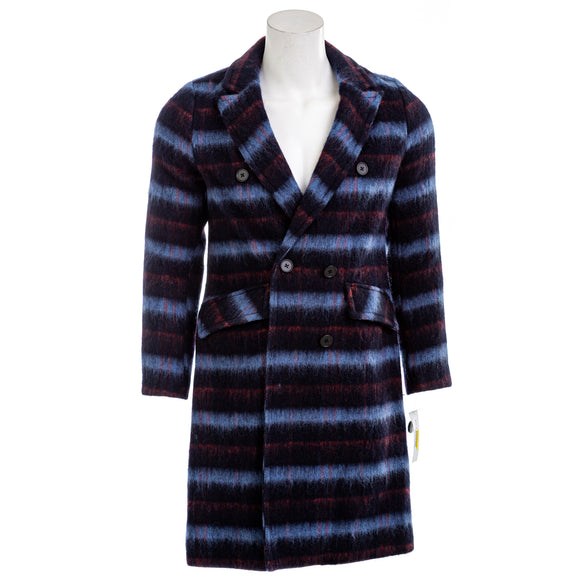 Bcbgeneration Double-breasted Plaid Coat