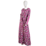 Tavin Dusty Rose Floral Maxi Dress