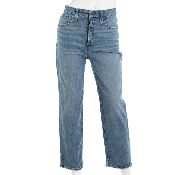 Madewell Womens Classic Straight Jeans