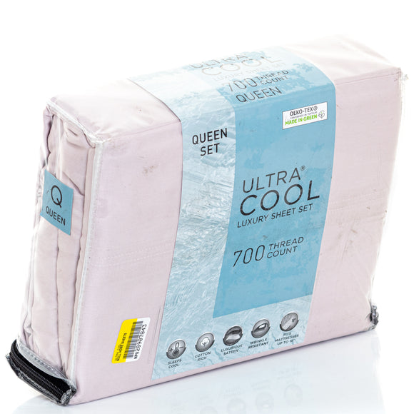 Ultra Cool 700 Tc Sheet Set In Cameo Queen