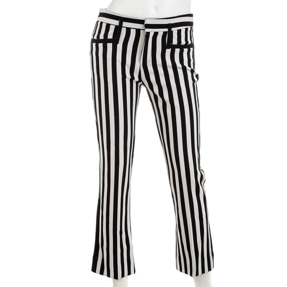 Calvin Rucker Cropped Striped Trousers