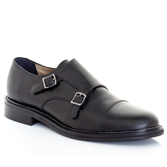 Banana Republic Men's Marden Monk Strap Oxfords