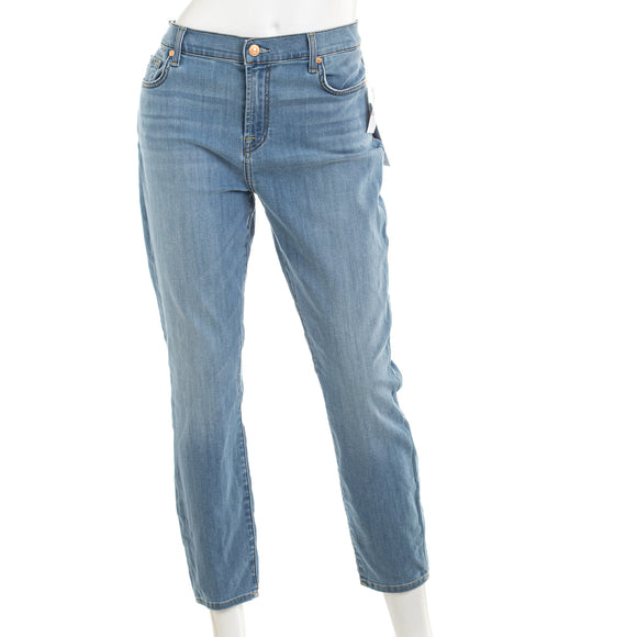 7 For All Mankind The Cropped Skinny Jean