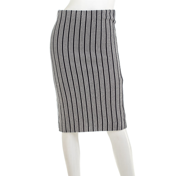 Ann Taylor Women's Vertical Stripe Pencil Skirt
