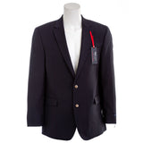 TOMMY HILFIGER Oscar Mens Navy Thflex Tailored Suit Jacket