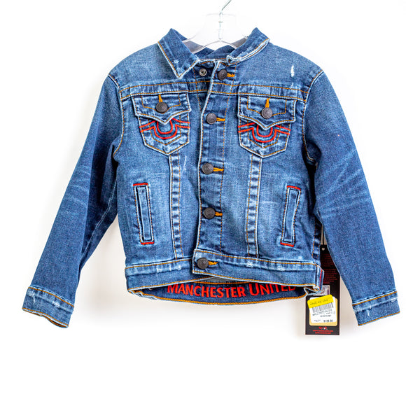 TRUE RELIGION Kids Manchester United Trucker Jacket