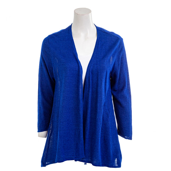 CHARTER CLUB Women's Pleated-Back Cardigan