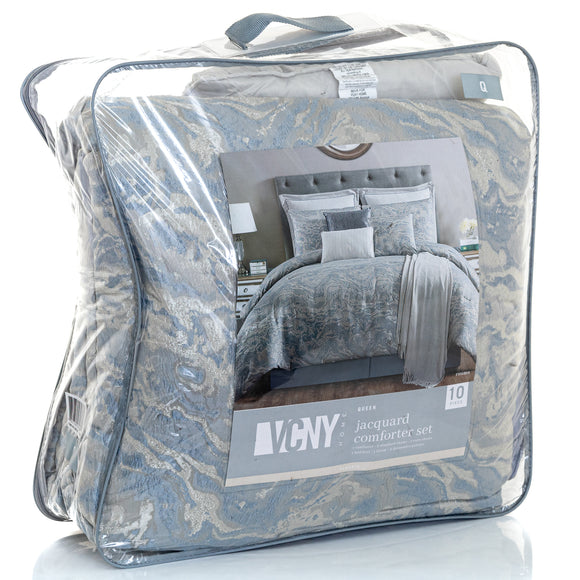 VCNY HOME Cosmo 10-pc. Queen Comforter Set Bedding