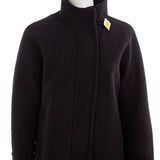 J CREW Women's Black City Coat
