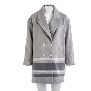 BANANA REPUBLIC Oversized Double Faced Cocoon Coat