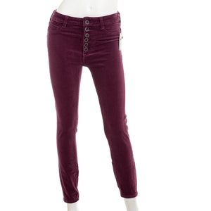 PILCRO BY ANTHROPOLOGIE Corduroy Purple Pants