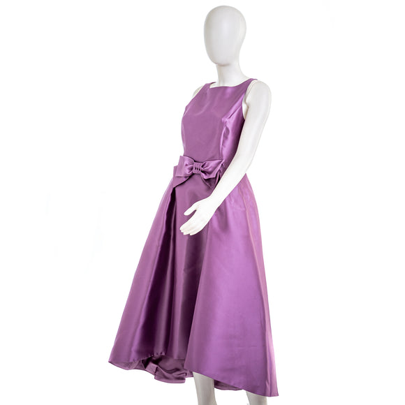 TAHARI Women's Purple Formal Dress