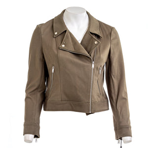 DKNY Women's Foundation Moto Jacket
