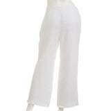 WHISTLER Women's Linen Cropped Wide Leg