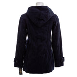 PENDLETON Hooded Woolen Pea Coat Navy Nwt