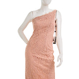 ADRIANNA PAPELL One Shoulder Lace Dress