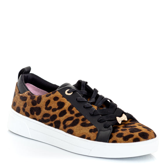 TED BAKER Gielli Leopard Print Sneakers