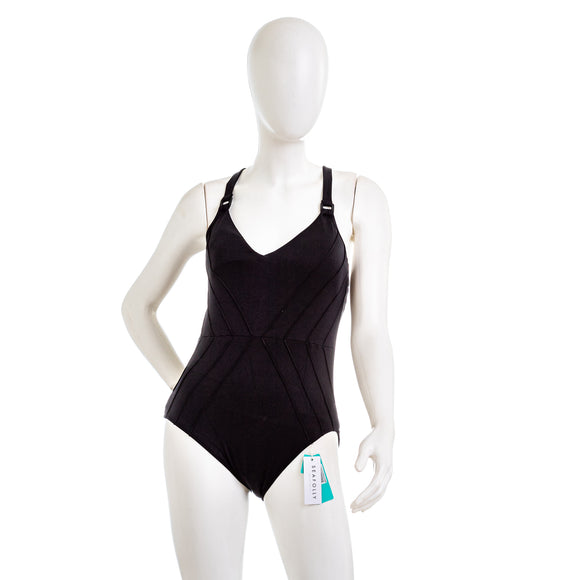 SEAFOLLY Pintucked One Piece Swimsuit