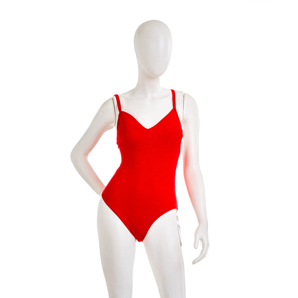 SEAFOLLY Summer Sea V Neck Maillot One Piece Swimsuit