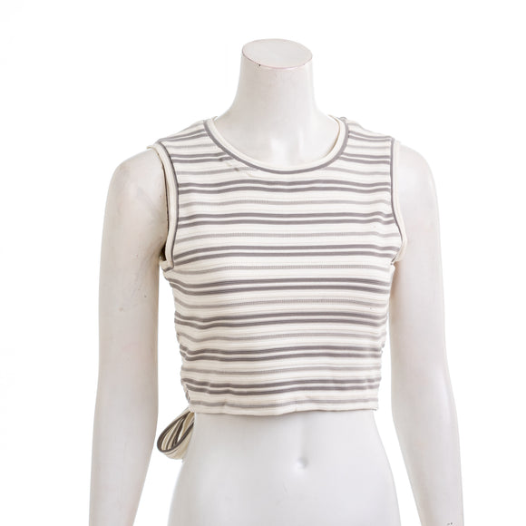 CLUB MONACO Womens Sleeveless Tie Back Top