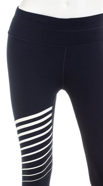 ATHLETA 591387-01-2-0002 RN 54023 Women's Navy Flash w/ Reflective Detail Leggings