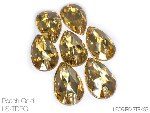 TEARDROP Peach Gold / LS-TDPG