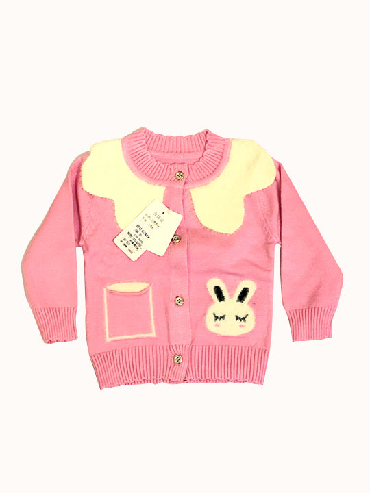 Baby Girl Sweater Kid Long Sleeve Ruffle Warm Tops Outfits