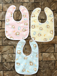A Pack of 3 water proof Bib, for Baby Boy & Girl