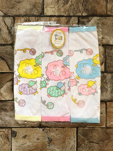 Unisex Baby Cotton Washcloths, Napkins