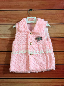Baby Pink Shirt Style Baby Girl Sweater