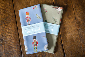 Nutcracker Christmas Tea Towel