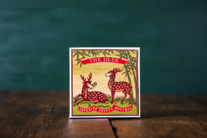 The Deer Luxury Box of  Matches