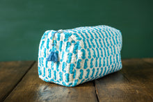 Load image into Gallery viewer, Blue Seahorse Wash Bag