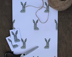 Hare Wrapping paper