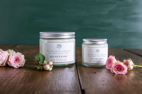 Botanical Candle Co. Quietide Soy Wax Candle Augusta Hope