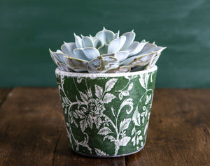 Old Style Green Dutch Pot