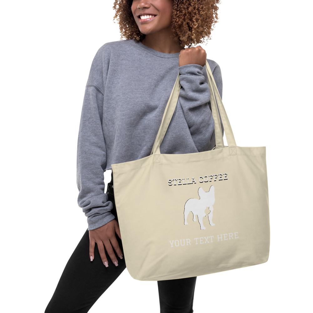 Stella Coffee Addict Large Organic Tote Bag