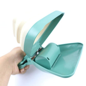 Collapsible Pooper Scooper With Decomposable Bags