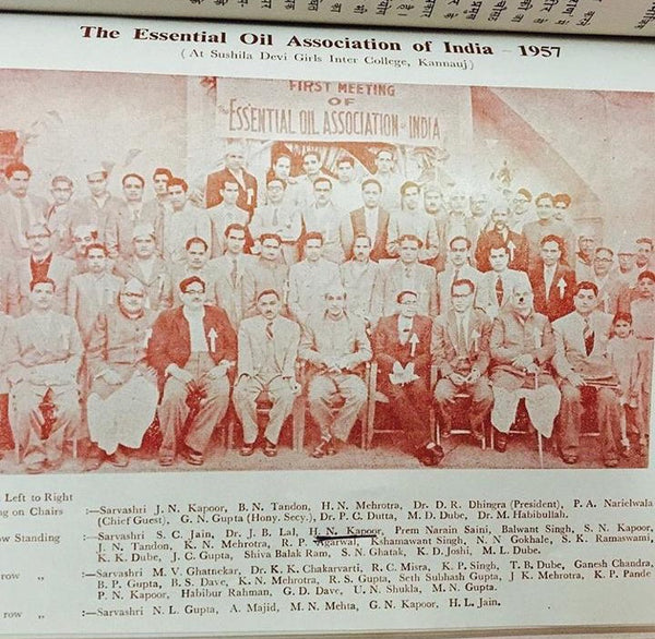 A photo of the Essential Oil Association of India