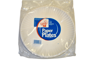 Paper Plate Disposable - 1 Unit