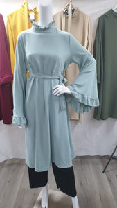 SH03 LONG TOP WITH BELL SLEEVES.
