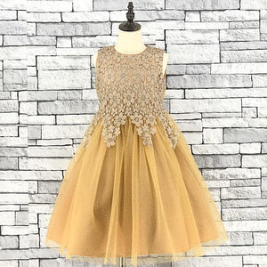 KD 10 BEIGE SLEEVELESS  DRESS