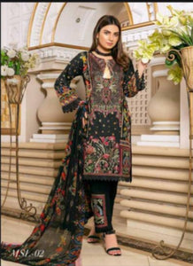 MD 08 MUNIRA DESIGNER READYMADE COLLECTION