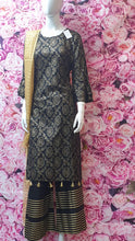 Load image into Gallery viewer, SKD 22 PALAZZO SUIT WITH CONTRAST DUPATTA