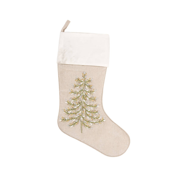 Winter Tree Stocking