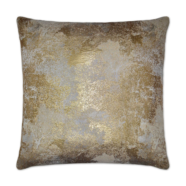 Speckled Gold Pillow